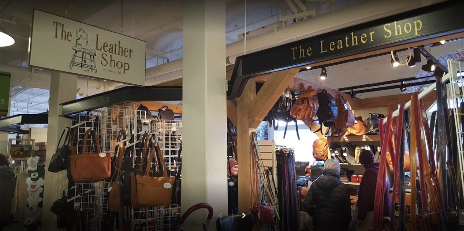 The Leather Shop at Faneuil Hall